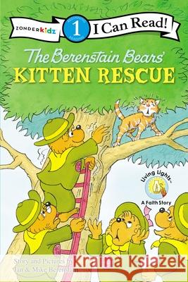 The Berenstain Bears' Kitten Rescue Jan& Mike Berenstain 9780310720973