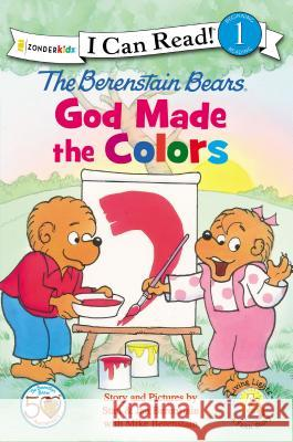 The Berenstain Bears, God Made the Colors Jan And Mike Berenstain 9780310725077