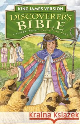 Discoverer's Bible-KJV-Large Print  9780310725497