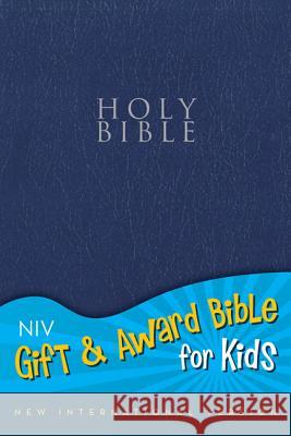 Gift and Award Bible for Kids-NIV Zondervan Publishing 9780310725558