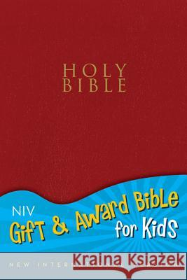Gift and Award Bible for Kids-NIV Zondervan Publishing 9780310725589