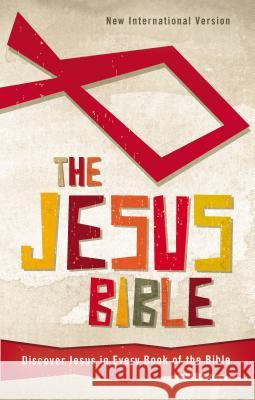 Jesus Bible-NIV: Discover Jesus in Every Book of the Bible Zondervan Publishing 9780310726005