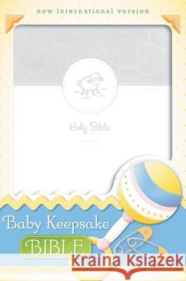 Baby Keepsake Bible-NIV Tracy Harrast 9780310730873
