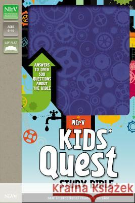 Kids' Quest Study Bible-NIRV: Answers to Over 500 Questions about the Bible Zondervan Publishing 9780310744825