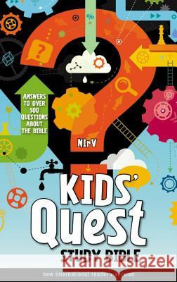 Kids' Quest Study Bible-NIRV: Answers to Over 500 Questions about the Bible Zondervan Publishing 9780310744856