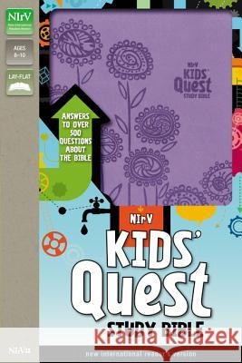 Kids' Quest Study Bible-NIRV: Answers to Over 500 Questions about the Bible Zondervan Publishing 9780310744917