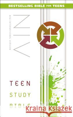 Teen Study Bible-NIV  9780310745686