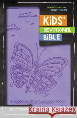NIRV Kids' Devotional Bible, Imitation Leather, Lavender: Over 300 Devotions Zondervan Publishing 9780310758143