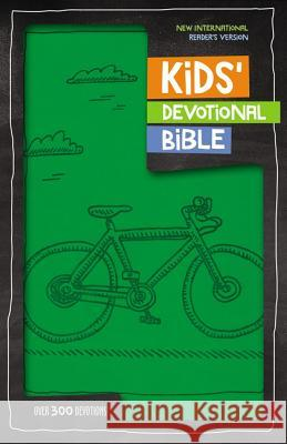 NIRV Kids' Devotional Bible, Imitation Leather, Green: Over 300 Devotions Zondervan Publishing 9780310758280