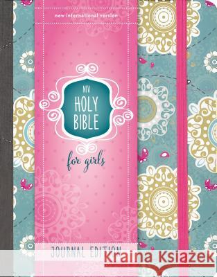 Niv, Holy Bible for Girls, Journal Edition, Hardcover, Turquoise, Elastic Closure Zondervan Publishing 9780310758969