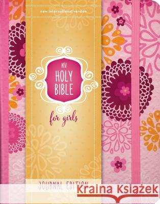 Niv, Holy Bible for Girls, Journal Edition, Hardcover, Pink, Elastic Closure Zondervan Publishing 9780310759065
