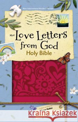 NIRV Love Letters from God Holy Bible, Imitation Leather, Magenta Zondervan Publishing 9780310759720