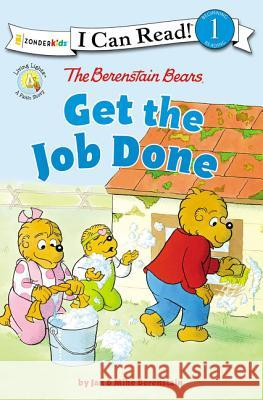 The Berenstain Bears Get the Job Done : Level 1 Jan &. Mike Berenstain 9780310760153