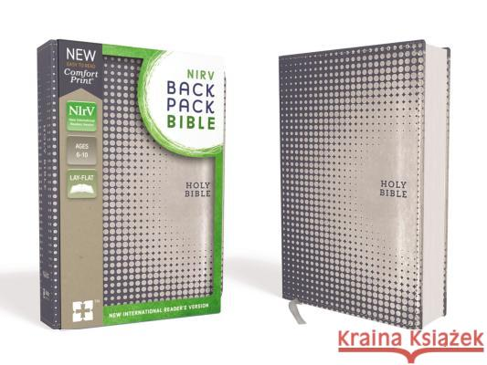 Nirv, Backpack Bible, Leathersoft, Blue/Silver Zondervan 9780310761556