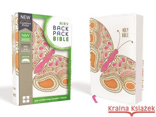 Nirv, Backpack Bible, Flexcover, Pink Butterfly Zondervan 9780310761570