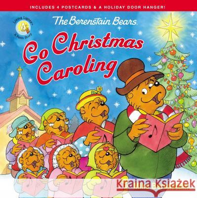 The Berenstain Bears Go Christmas Caroling Mike Berenstain 9780310763635