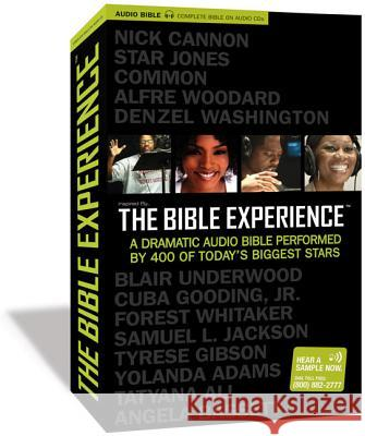Inspired By...the Bible Experience-TNIV - audiobook Zondervan Publishing 9780310926306