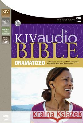 Dramatized Bible-KJV - audiobook Zondervan Publishing 9780310936091