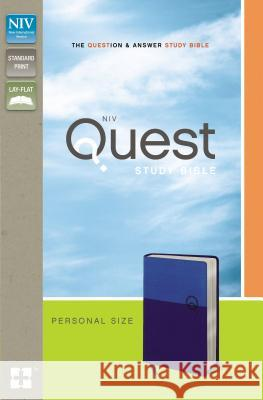 Quest Study Bible-NIV-Personal Size Christianity Today Intl 9780310949688
