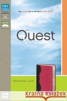Quest Study Bible-NIV-Personal Size Christianity Today Intl 9780310949695