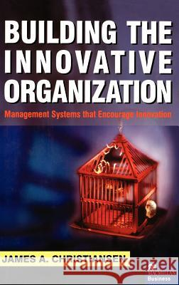 Building the Innovative Organization: Management Systems That Encourage Innovation James A. Christiansen 9780312232832