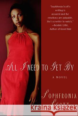All I Need to Get by Sophronia Scott Sophfronia Scott 9780312318567