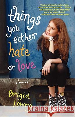 Things You Either Hate or Love Brigid Lowry 9780312363086