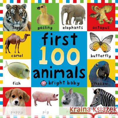 First 100 Animals Roger Priddy 9780312496760
