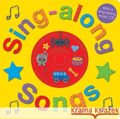 Sing-Along Songs [With CD (Audio)] Roger Priddy 9780312506483