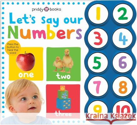 Simple First Words Let's Say Our Numbers Roger Priddy 9780312508784