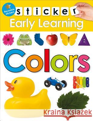 Sticker Early Learning: Colors Roger Priddy 9780312520168