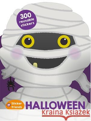 Sticker Friends: Halloween: 300 Reusable Stickers Roger Priddy 9780312520205