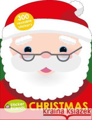 Sticker Friends: Christmas: Over 300 Reusable Stickers Roger Priddy 9780312520502