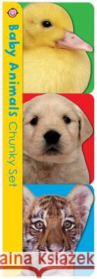 Chunky Pack: Baby Animals Chunky Set: Pets, Farm, and Wild Animals Roger Priddy 9780312525477