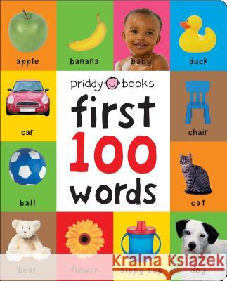 First 100 Words Padded (Large) Roger Priddy 9780312528775