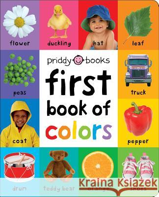First Book of Colors Padded Roger Priddy 9780312528799