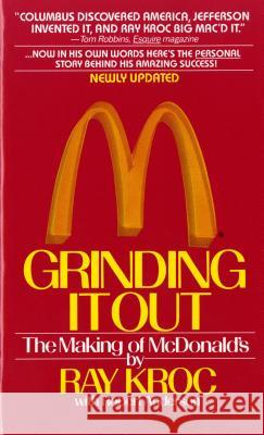 Grinding It Out Ray Kroc 9780312929879