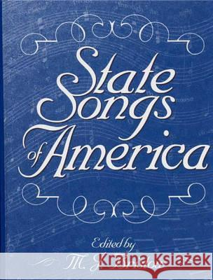 State Songs of America M. J. Bristow 9780313292989