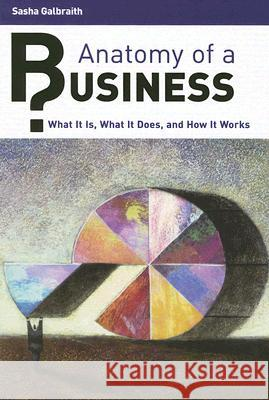 Anatomy of a Business : What It Is, What It Does, and How It Works Sasha Galbraith 9780313337932