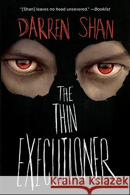 The Thin Executioner Darren Shan 9780316078641
