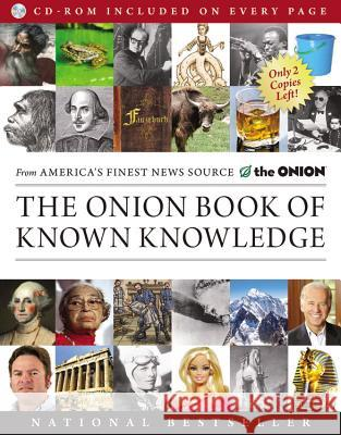 The Onion Book of Known Knowledge: A Definitive Encyclopaedia of Existing Information   9780316133241