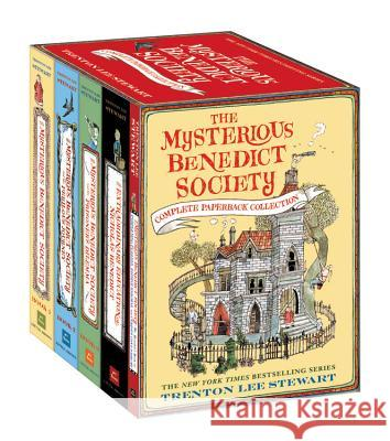The Mysterious Benedict Society Complete Paperback Collection Trenton Lee Stewart 9780316318150