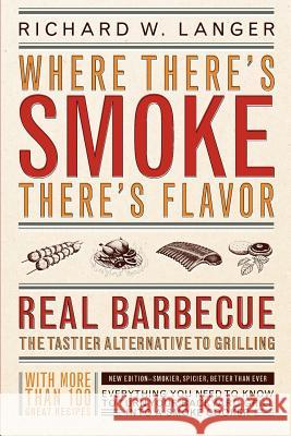 Where There's Smoke There's Flavor: Real Barbecue Richard W. Langer 9780316513012