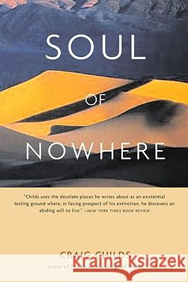 Soul of Nowhere Craig Childs 9780316735889