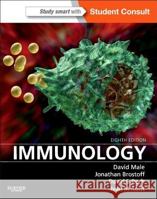 Immunology: With Student Consult Online Access David Male Jonathan Brostoff David Roth 9780323080583 W.B. Saunders Company