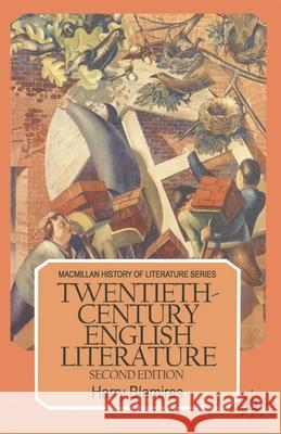 Twentieth-Century English Literature  9780333428108