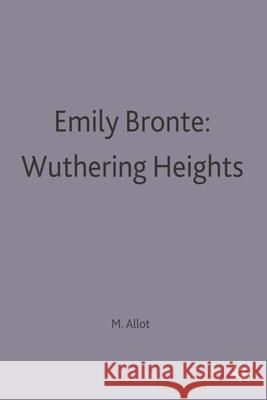 Emily Bronte: Wuthering Heights  9780333533680