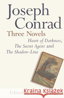Joseph Conrad: Three Novels : Heart of Darkness, The Secret Agent and The Shadow Line  9780333610961
