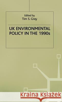 UK Environmental Policy in the 1990s  9780333621202