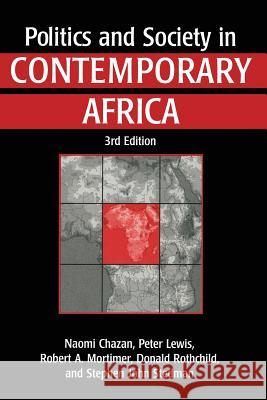 Politics and Society in Contemporary Africa  9780333694756